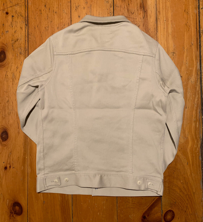 Off White Japanese Bedford Cord Jacket