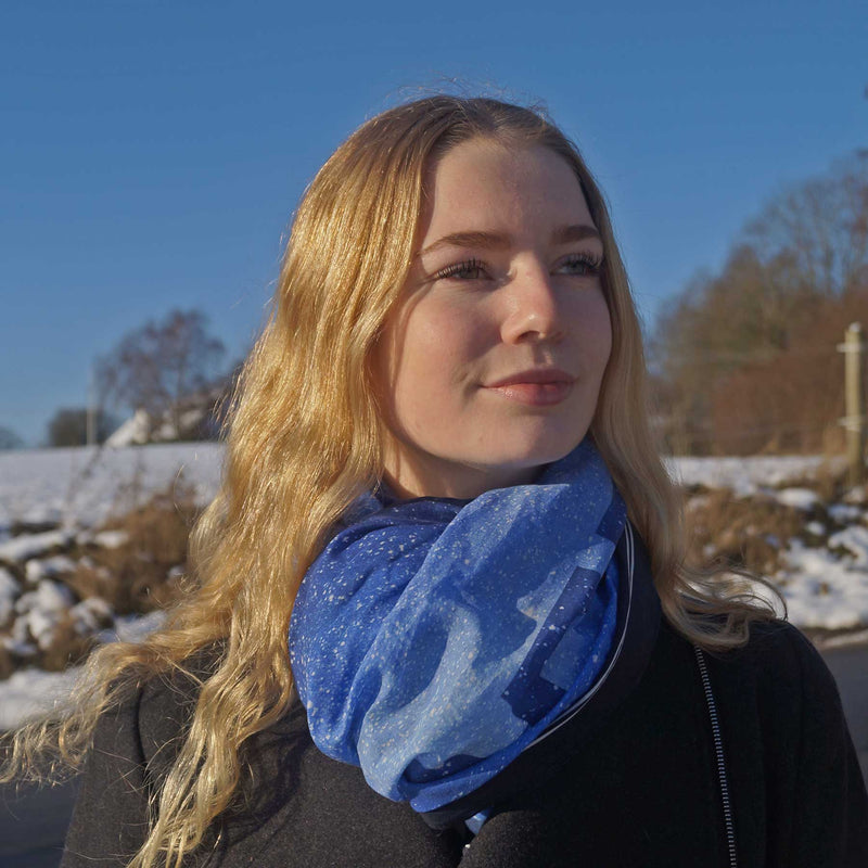 Freedom scarf for women