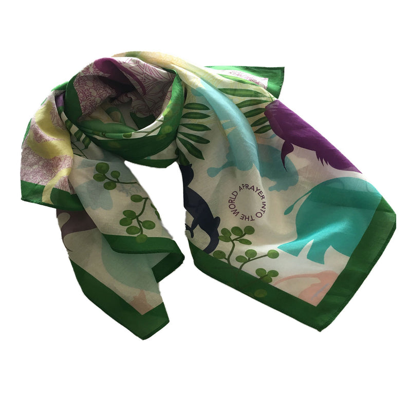 Love of Kind scarf folded style