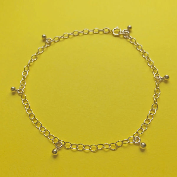 14Kt Yellow Gold Plated Anklet