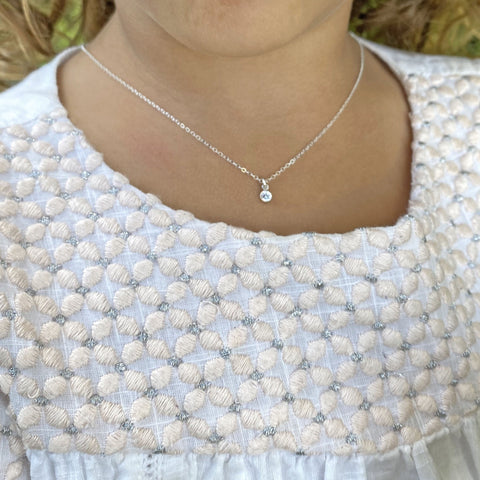 Sterling Silver and Gold-Filled Charm Necklace by Taissa Maleck from My Jewelry Is Online Store