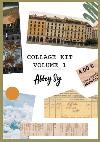 Digital Collage Kit Vol. 1