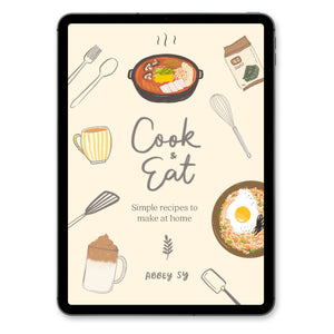 Cook & Eat Recipe Book