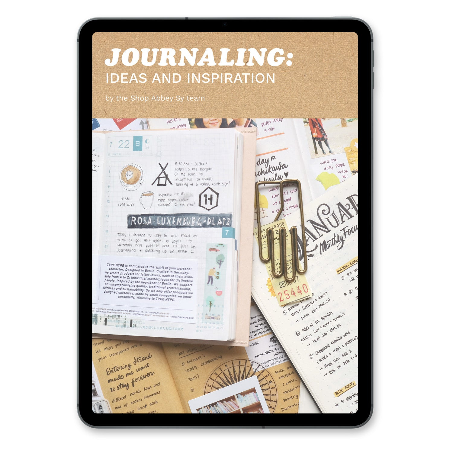 Journaling: Ideas & Inspiration