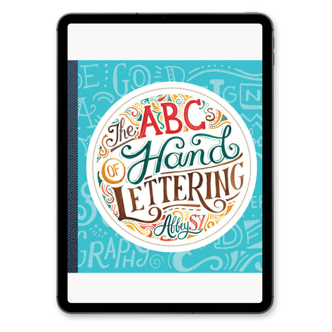 The ABCs of Hand Lettering [Digital Copy]