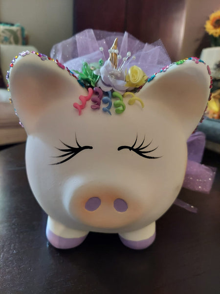 Unicorn Piggy Bank from Amatl