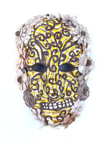 Calavera Amarilla by Anthony Saldivar