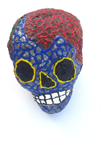"""Skull"" Sculpture by Anthony Saldivar"