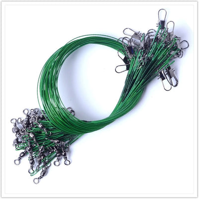 20PCS  Stainless Line Wire Leader Fishing Tools