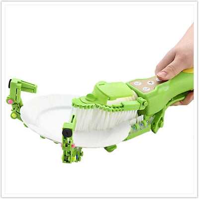 Automatic Dish Scrubber Brush
