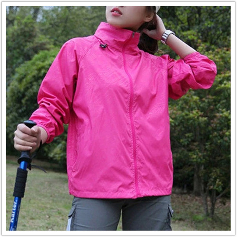 Men Women Rain Jacket