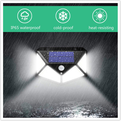 Waterproof Solar Lamp with Motion Sensor