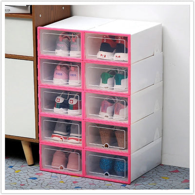 Transparent Drawer Shoes Box