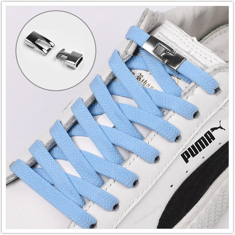 Cross Buckle Shoe Laces