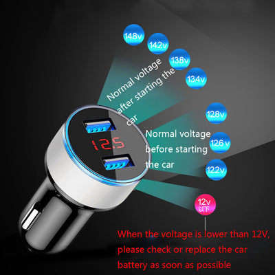 CAR USB SMART CHARGER