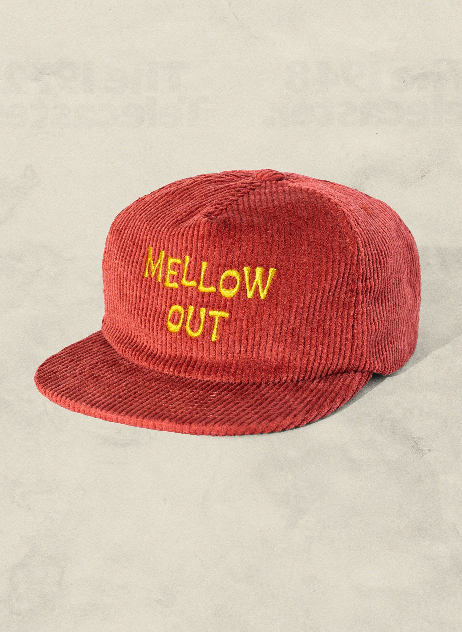 Mellow Out Corduroy Hat