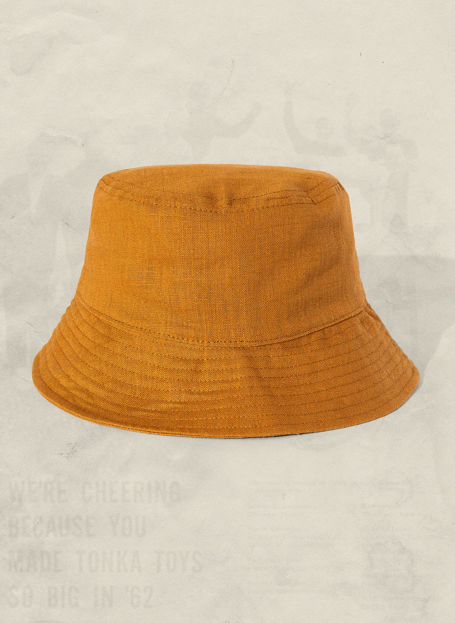 Grown in California Hemp Bucket Hat Sustainable Lifestyle Retro Vintage 70s Boho