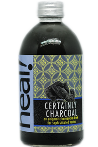 Certainly Charcoal Kombucha