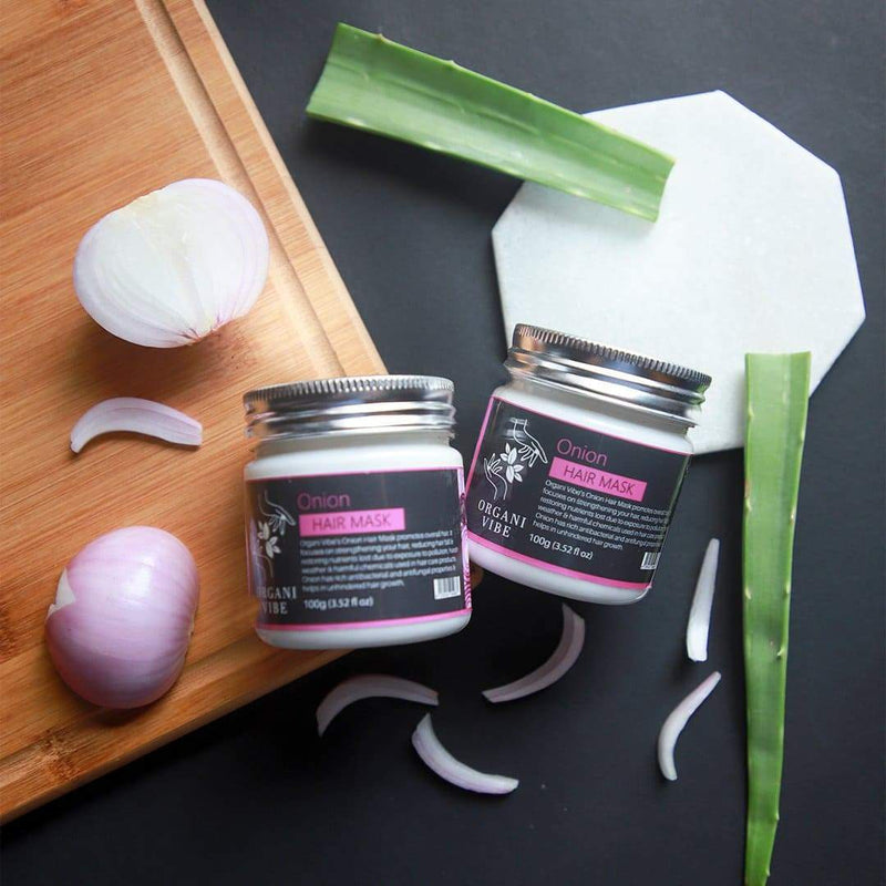 Onion Hair Mask - Organi Vibe