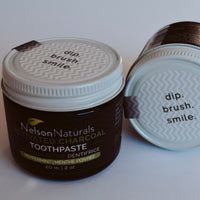 Nelson Naturals Toothpaste - Activated Charcoal