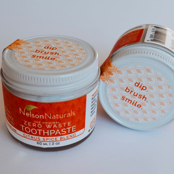 Nelson Naturals Toothpaste - Citrus Spice