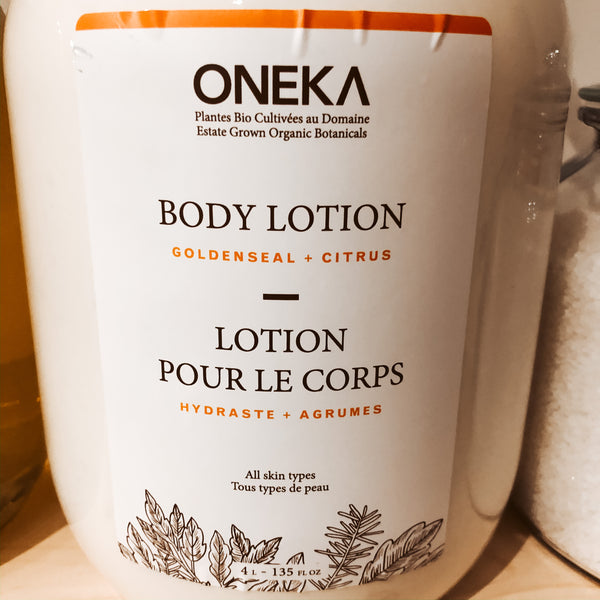 475G Oneka Body Lotion - Goldenseal & Citrus - The Alternative