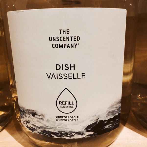 475G The Unscented Company Dish Soap