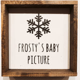 Montgomery Creek Designs 6x6 Holiday Wood Signs