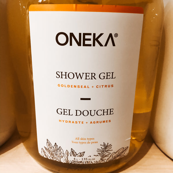 475G Oneka Shower Gel - Goldenseal & Citrus   - The Alternative