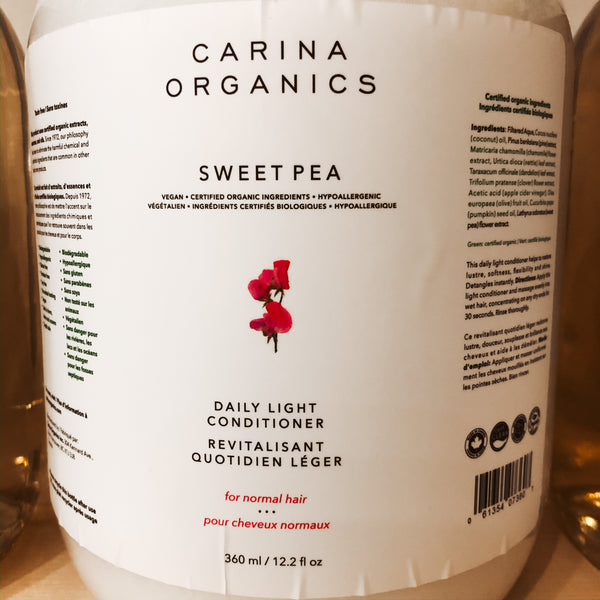 475G Carina Organics Daily Light Conditioner - Sweet Pea