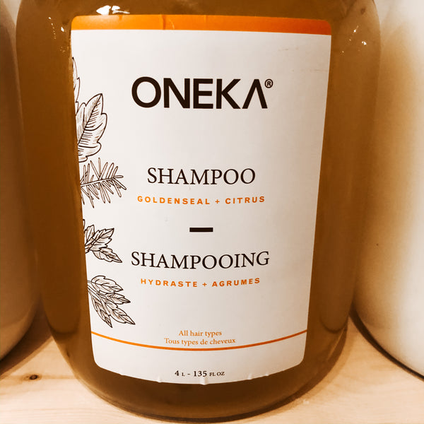 475G Oneka Shampoo - Goldenseal & Citrus   - The Alternative