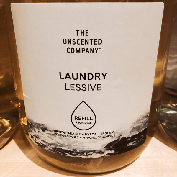 475G The Unscented Company Liquid Laundry Detergent