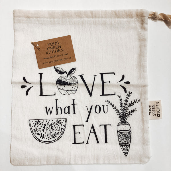 Your Green Kitchen Reusable Produce Bag