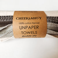 Cheeks Ahoy Double Ply Unpaper Towels - Set of 5 - The Alternative