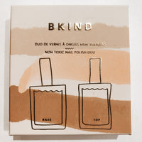 BKIND Top and Base Coat Nail Polish