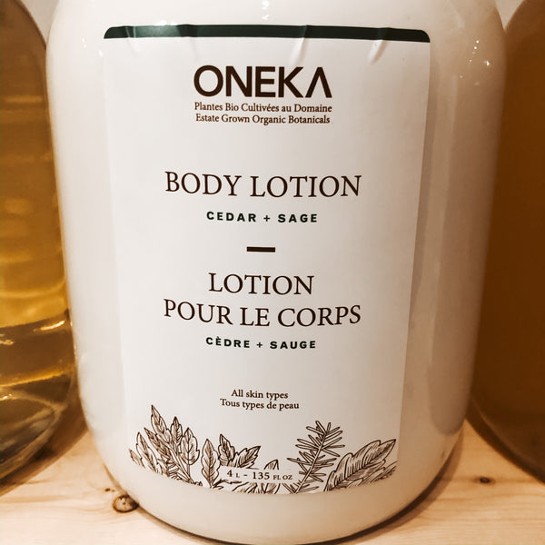 475G Oneka Body Lotion - Cedar & Sage - The Alternative