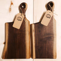 Windy Day Woodworking Walnut Charcuterie Board - Small