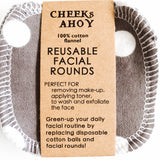 Cheeks Ahoy Facial Rounds - Set of 12 - The Alternative