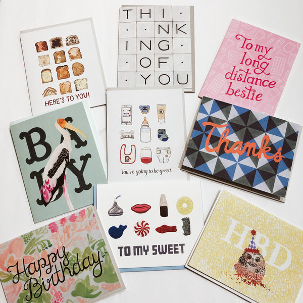 Front Paper Greeting Cards