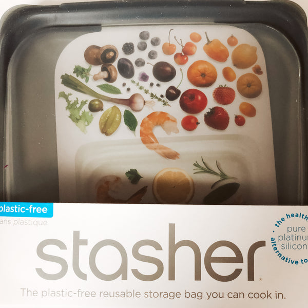 Stasher Reusable Sandwich Bag