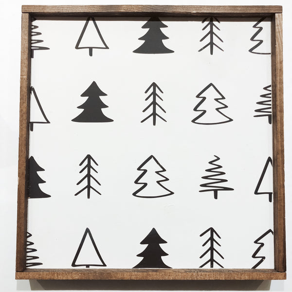 Montgomery Creek Designs 12x12 Holiday Wood Signs