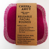 Cheeks Ahoy Facial Rounds - Set of 12