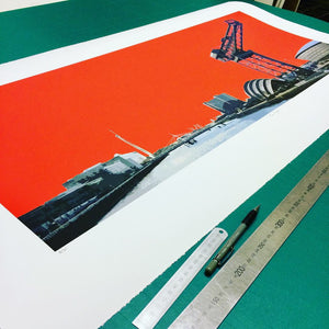 Glasgow Limited Edition Print