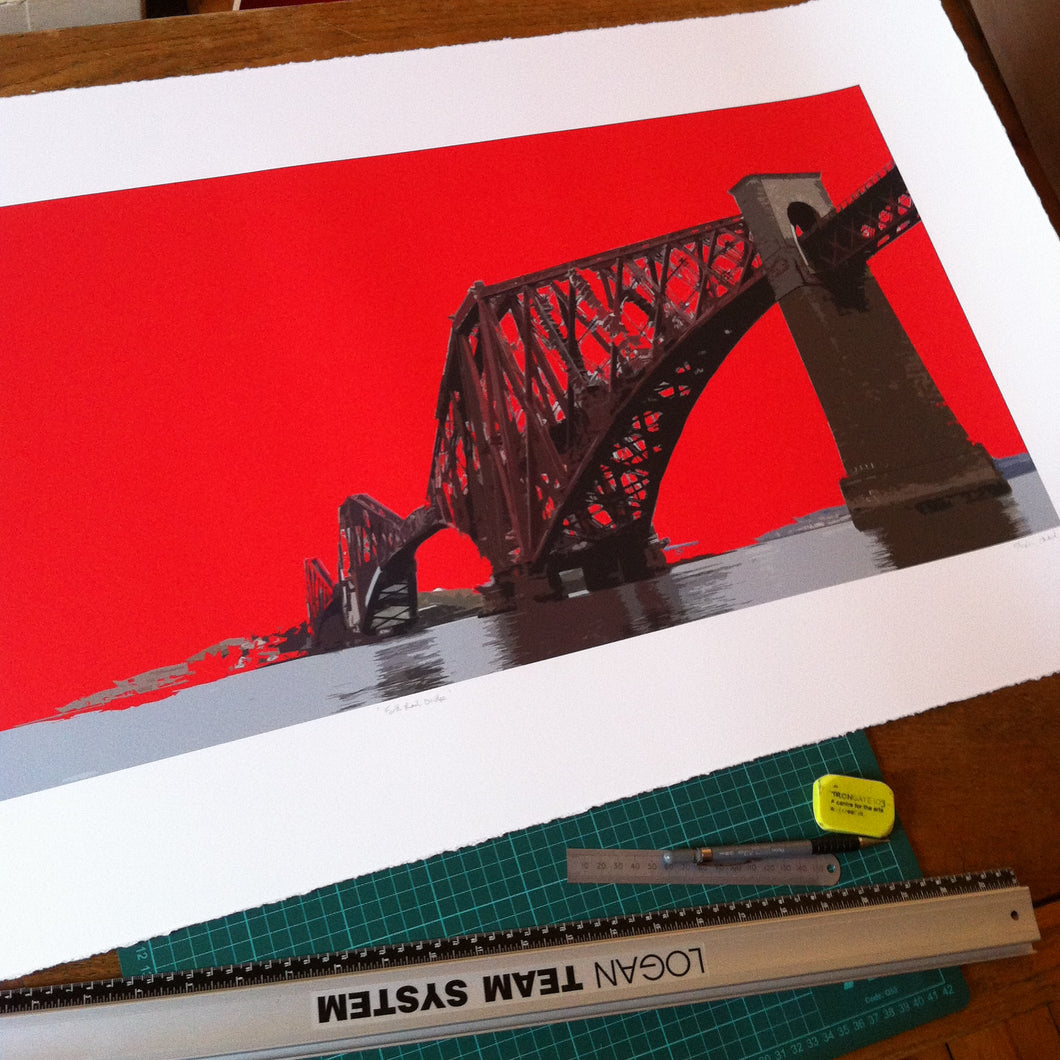 Forth Bridge Limited Edition Print