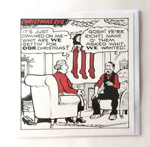 DC Thomson Christmas Cards