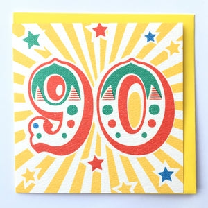 Age Birthday Cards