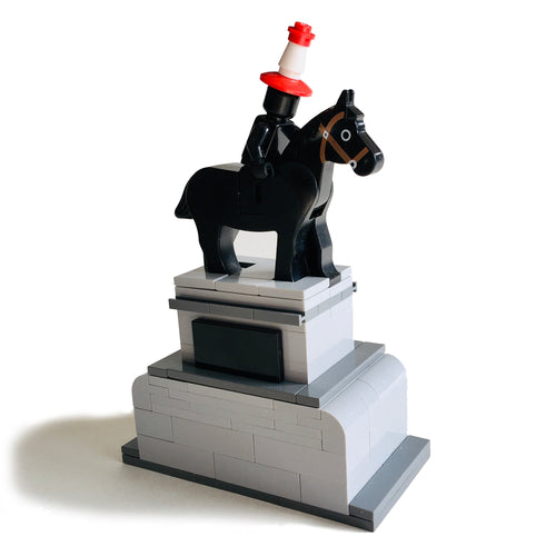 Lego Model of Duke of Wellington, Glasgow