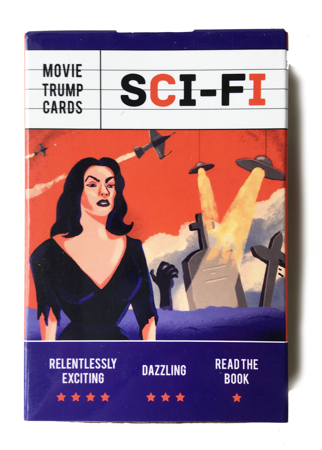 Sci-Fi Movie Trump Cards