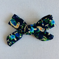 Birds Bow Hair Clip