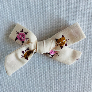 Calico Cats Bow Hair Clip